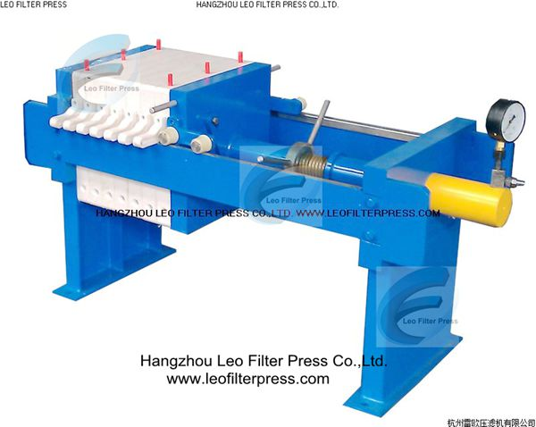 Manual Filter Press Working And Operation Instruction