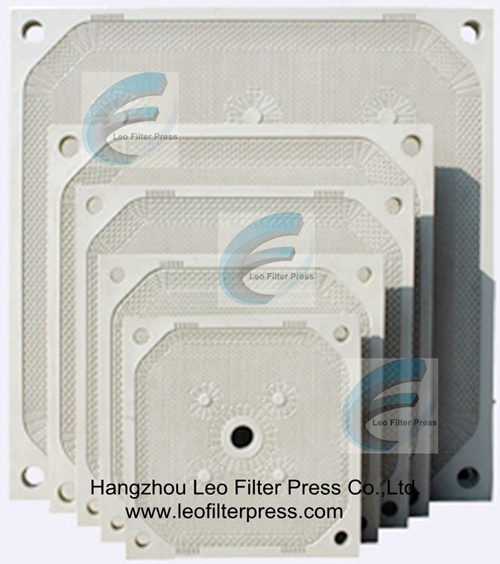 Leo Filter Press Polypropylene Membrane Filter Plate for Different Types of Membrane Filter Press Operation