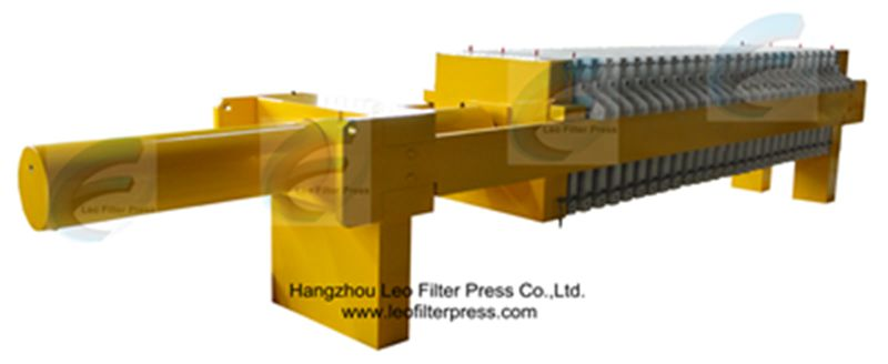 Leo Filter Press Automatic Hydraulic Filter Press,Open Filter Press by an Automatic Hydraulic System