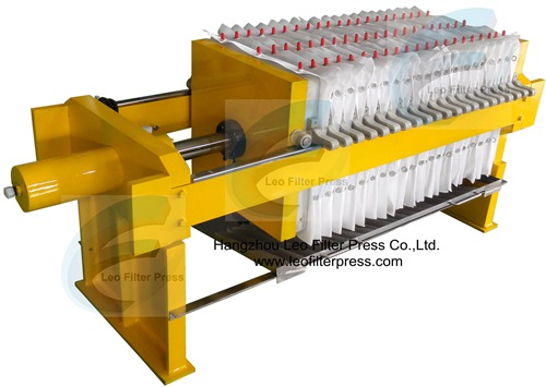 Small Recessed Plate Filter Press Chamber Recessed Filter